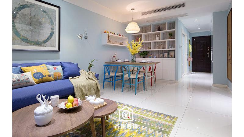 7W打造62平两室小户型家装工地施工,家装工地施工管理,家装工地图片