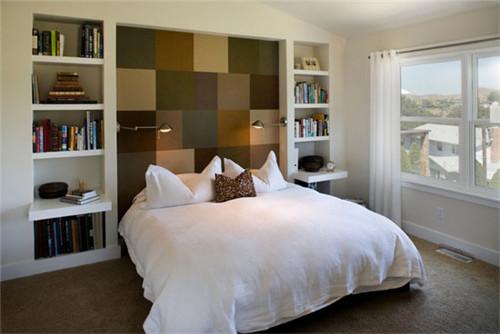 现代简约小户型装修效果图—卧室图片