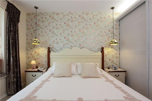 卧室墙纸效果图 不同风格的卧室墙纸欣赏
