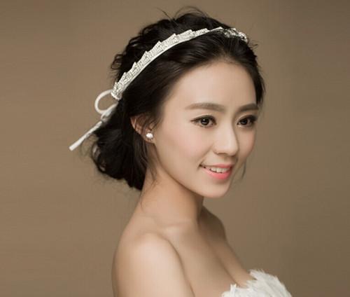 新娘妆面造型图片欣赏 黑皮肤新娘化妆有什么技巧