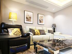 138平现代简约风格三居室装修 名门望族