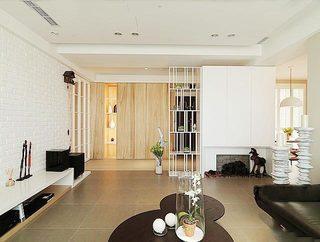 轻美式客厅装修效果图