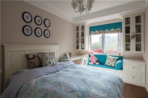飘窗装修效果图欣赏 舒适温馨室内飘窗设计
