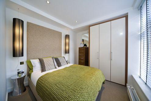 小户型房间装修效果图 实用漂亮的小卧室