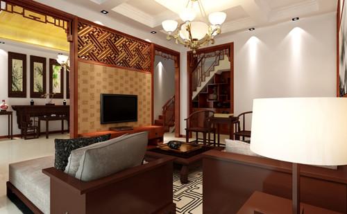 中式客厅装修效果图大全 大气沉稳的中式客厅 装成计