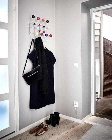 北欧风格一居室装修玄关装修设计