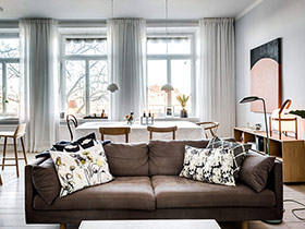 86平现代简约风格两室两厅装修 舒适和谐