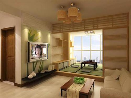 客厅榻榻米设计 4款不一样的客厅榻榻米图片
