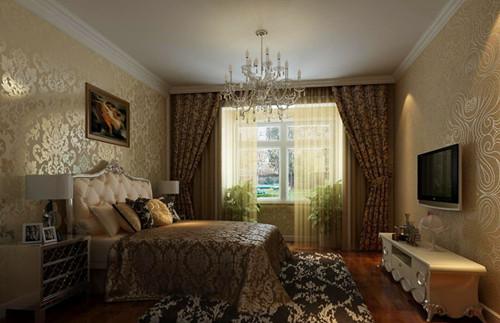 家装窗帘效果图 唯美清新的家装窗帘