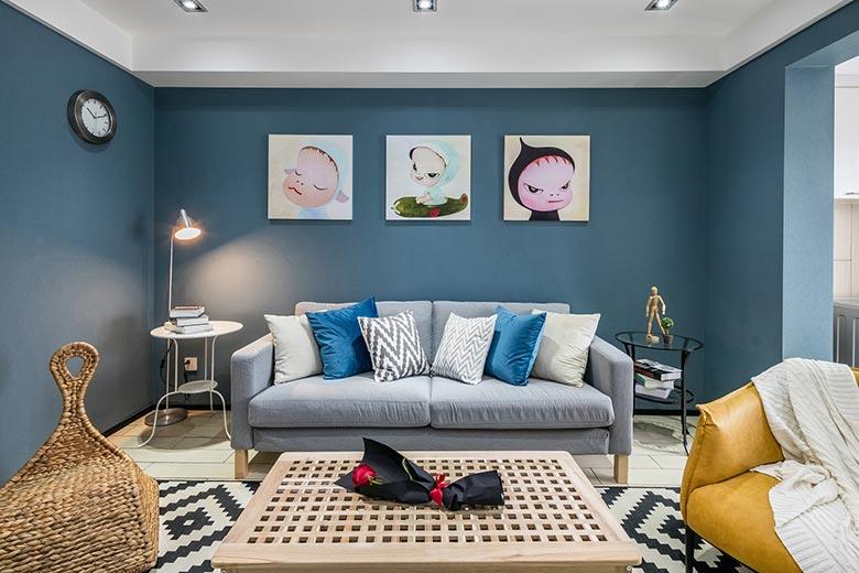 整体客厅装修装饰效果图