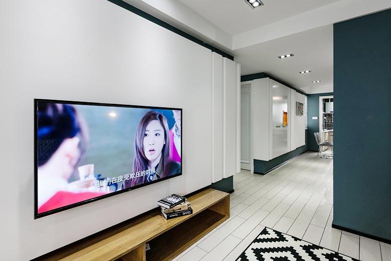 客厅装修背景墙设计图片