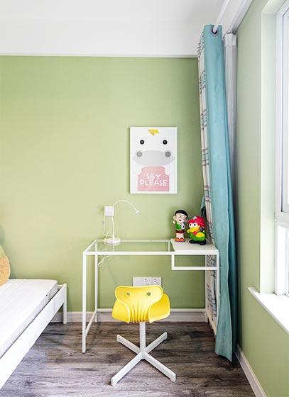 儿童房书桌装修装饰图片