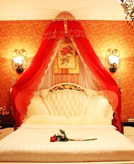 浪漫婚房卧室效果图设计