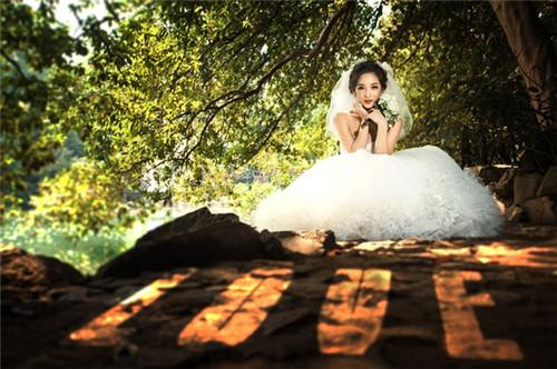 婚纱照样片和客片的区别 2017小清新婚纱照样片欣赏图片