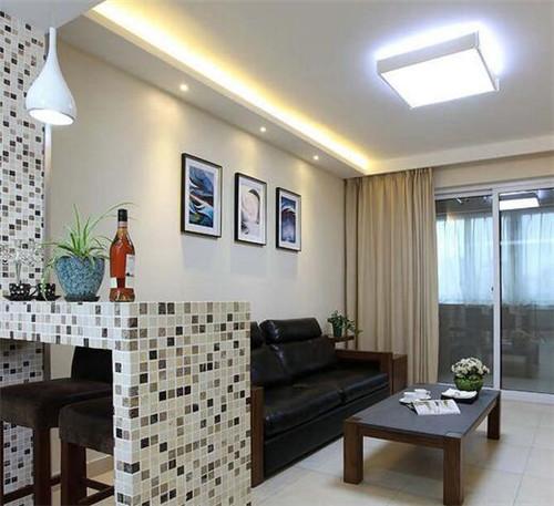 15平方客厅装修效果图 文艺单身女酷爱的小客厅_按__