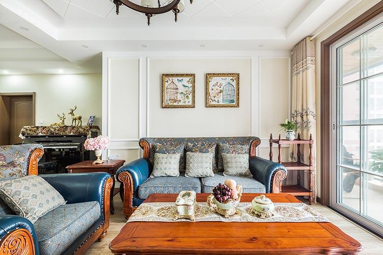 145平米美式两居室沙发图片大全