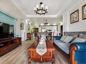 145平米美式两居室效果图  和煦春风