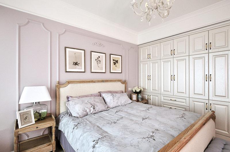 110平混搭四居室卧室衣柜图片