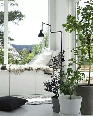 别墅客厅装修飘窗设计图