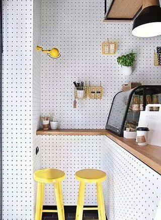 厨房洞洞板设计实景图