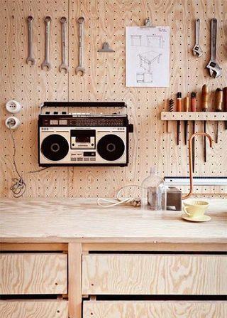 厨房洞洞板装修欣赏图