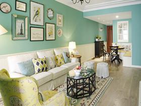客厅背景墙装饰画效果图 将客厅打造出不一样的美