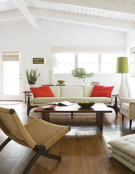 客厅吊顶设计欣赏图