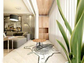阳台改造收纳空间效果图