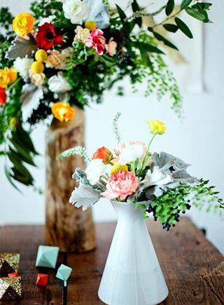 婚礼餐桌装饰设计摆放图片