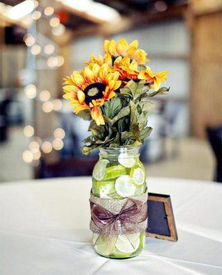 婚礼餐桌装饰布置平面图