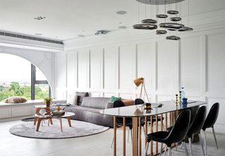 现代美式风格三居室公寓  清晰线条家2/15