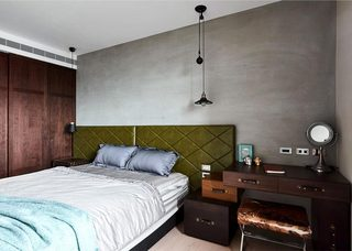 现代美式风格三居室公寓  清晰线条家12/15
