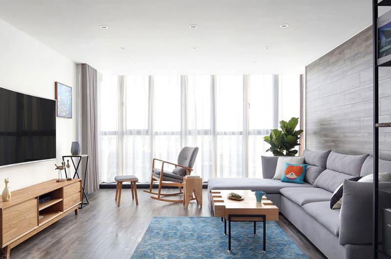 170平复式楼装修客厅装修设计