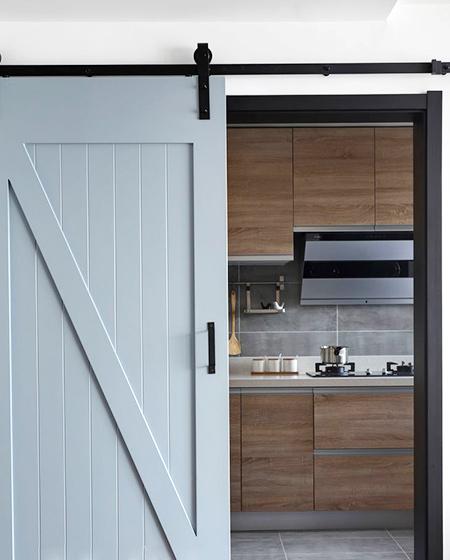 170平复式楼装修厨房效果图