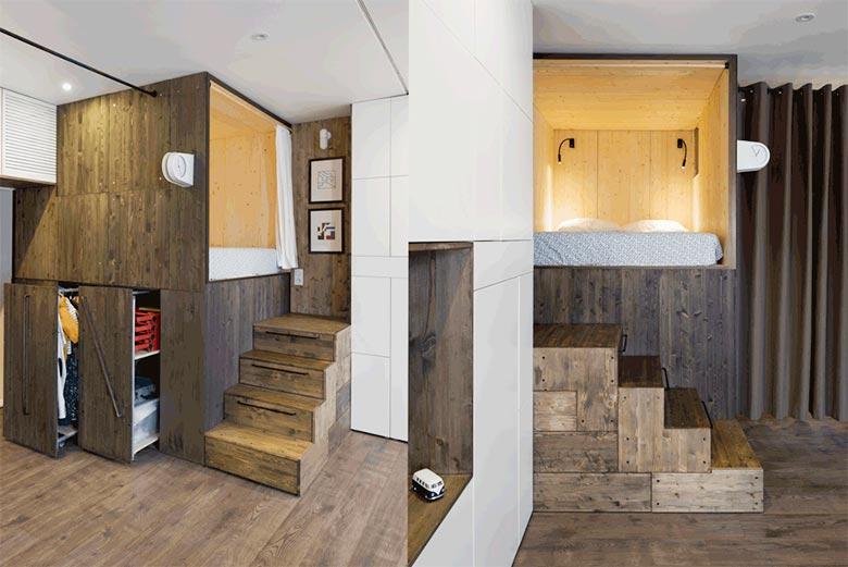 简约单身公寓设计图