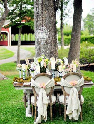 婚礼餐桌装饰品设计效果图