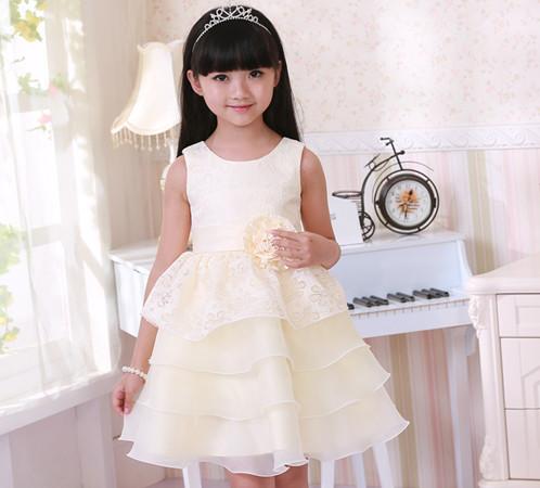 小孩婚纱 公主_儿童公主裙婚纱