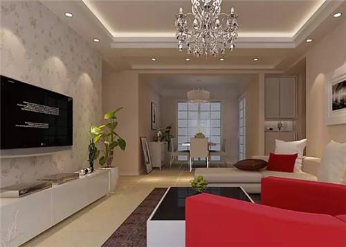 室内影视墙装修效果图大全 四款明媚的影视墙装修案例
