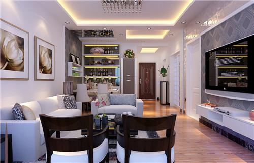 三房2厅装修效果图 120平三居室装修案例