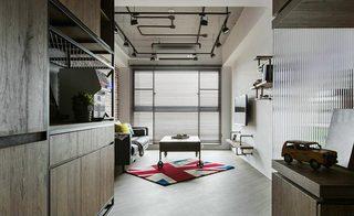 20坪loft单身公寓装修装饰效果图