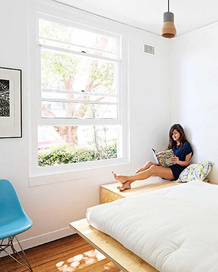 42平小户型一居卧室效果图设计