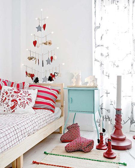 125平北欧风格三居儿童房装饰图