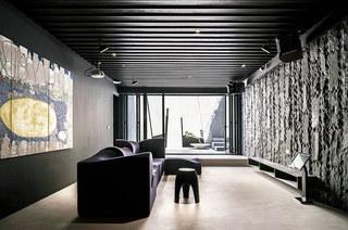 400平独栋别墅装修会客室设计图