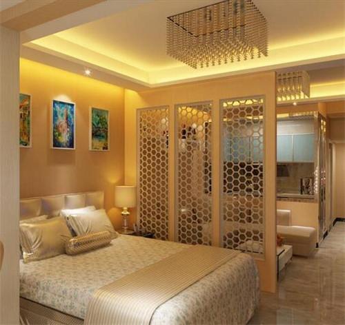 小户型客厅卧室一体装修效果图 客卧一体让家轻松多出