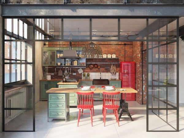 小户型创意餐厅设计图