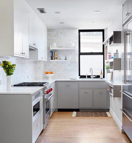 白色厨房设计装修图片