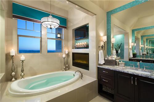 欧式浴室装修效果图 尽享欧式贵族奢华生活
