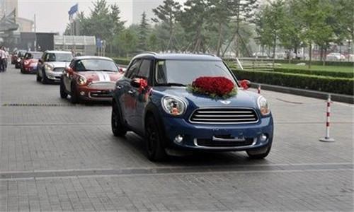 北京婚庆车队图片 婚车租赁价格一览表