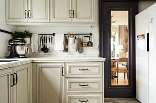 360平复式楼装修厨房橱柜图片