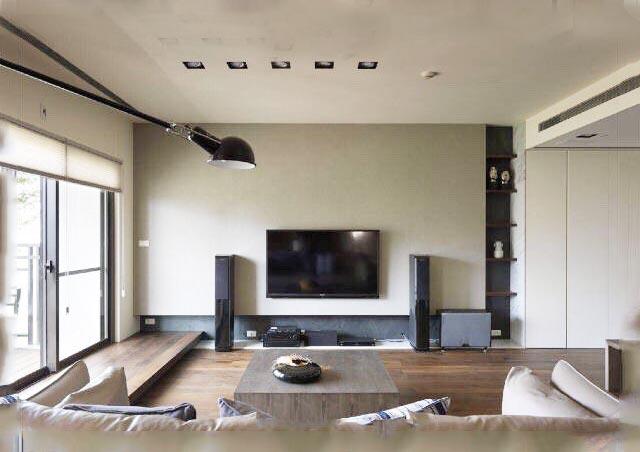 现代风电视背景墙图片大全